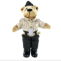 Plush: Marine Corps Bear in Charlie Uniform (10 Inch)