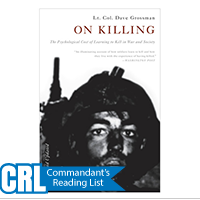 On Killing: The Psychological Cost of Learning to Kill...