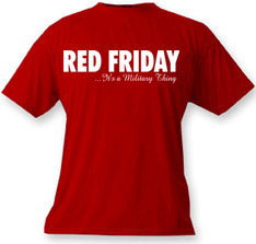 Red Friday...It's a Military Thing