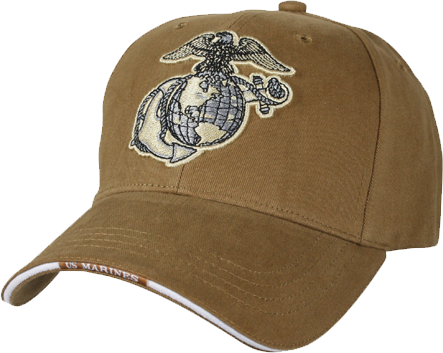 Cap Ega Embroidered On Coyote