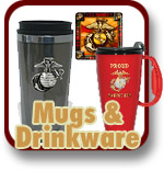 USMC Mugs and Drinkware