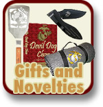 Gifts and Novelties for Marines and Marine Corps Families