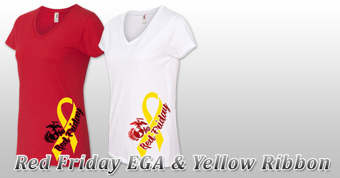 Red Friday EGA & Yellow Ribbon