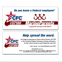 Outreach Card: Combined Federal Campaign (CFC)