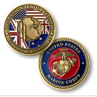 Coin, Operation Iraqi Freedom - Marine