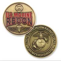 Coin, Marine Recon