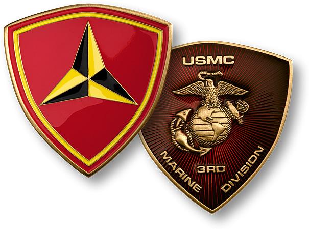 z coin 3rd marine division