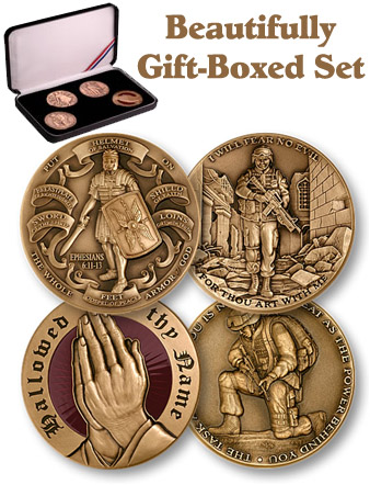 Coin Gift Set: Christian Soldier