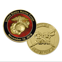 _Coin, 2019 Marine Corps Birthday (Limited Edition)