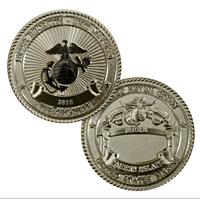 Coin, Crucible 2018, Parris Island (Limited Edition)