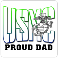 Proud Family Member of a Marine