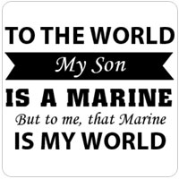 That Marine is My World