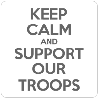 ...AND SUPPORT OUR TROOPS
