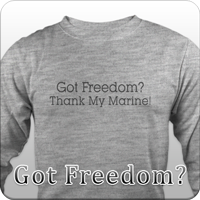 Got Freedom? Thank my son!