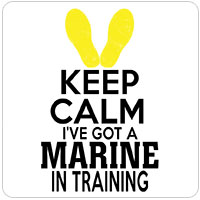 KEEP CALM Marine in Training