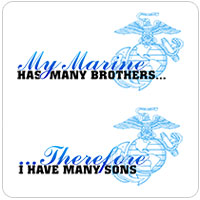 You Save! Overstock: My Marine has many brothers