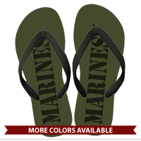 Flip Flops: (adult or youth sizes): MARINES