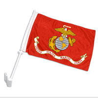 Car Flag, Marine Corps
