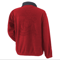 __Jacket, Fleece: Semper Fidelis (Red)