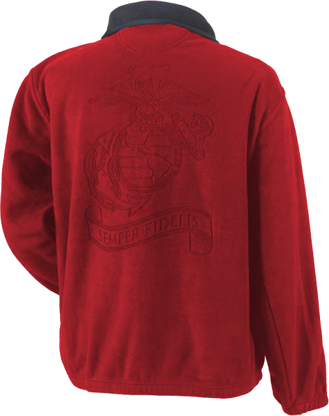 Jacket, Fleece: Semper Fidelis (Red)