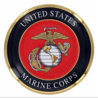 Collector Plate: U.S. Marine Corps