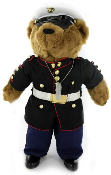 Dress blues uniform