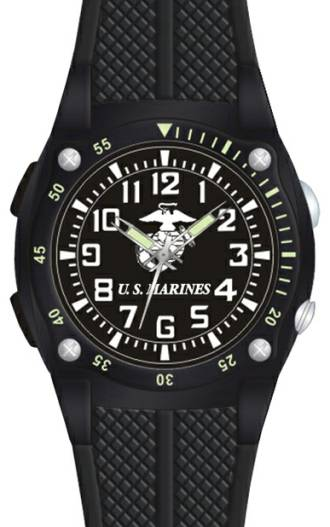Watch (Men's), USMC Dress-Sport Watch