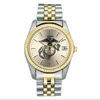 Watch (Women's), EGA with Two-Tone Metal Band