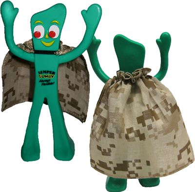 Figurine: Semper Gumby with Cape