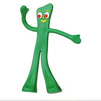 Figurine: Gumby (aka Semper Gumby)