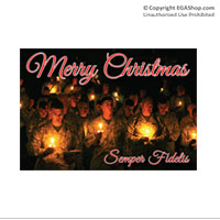 Christmas Cards: Silent Night (Pkg of 6)
