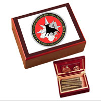 Cigar Humidor: FAST Europe Unit Crest