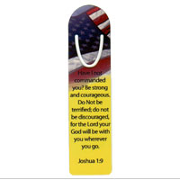 Bookmark: Spiritual, Joshua 1:9