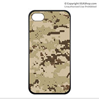 Cell Phone Cover: Oversized Digital Camo Print
