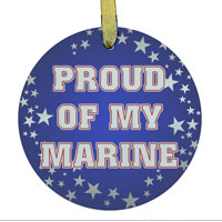 Ornament: Proud of My Marine