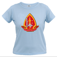 _T-Shirt (Ladies): 1/2 Marines