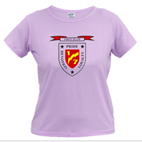 _T-Shirt (Ladies): 1/7 Marines