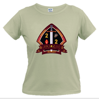 _T-Shirt (Ladies): 2/2 Marines