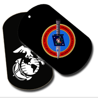 Dog Tag Set: 2/7 Marines