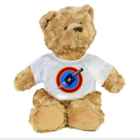 Plush Teddy Bear: 2/7 Marines (customizable)