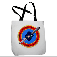 Tote Bag: Master (16x16) 2/7 Marines