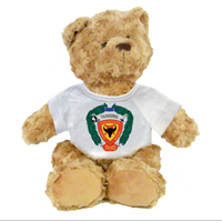 Plush Teddy Bear: 3/4 Marines (customizable)