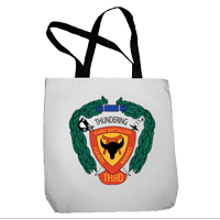 Tote Bag: 3/4 Marines (16x16)