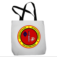 Tote Bag: 3/7 Marines (16x16)
