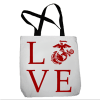 Tote Bag: Love w/ EGA