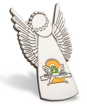 Lapel Pin, Recruit Angel, 2nd Battalion