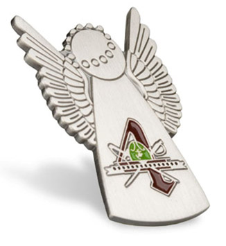 Lapel Pin, Recruit Angel, 4th Battalion