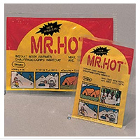 Warmers (Disposable ): Mr. Hot (for body, pkg of 5)