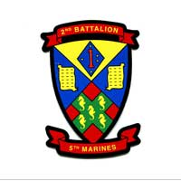 Decal: 2nd Battalion 5th Marines
