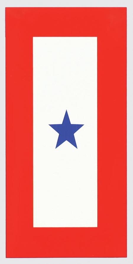 blue star service flag - photo #4